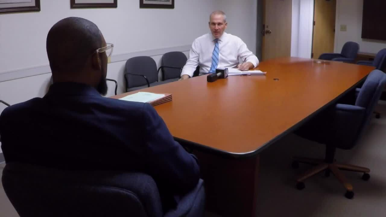 Michael Buczyner interviews James Green, director of Community Services Department for Palm Beach County