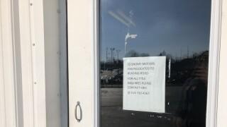 Economy Motors Westwood Sign