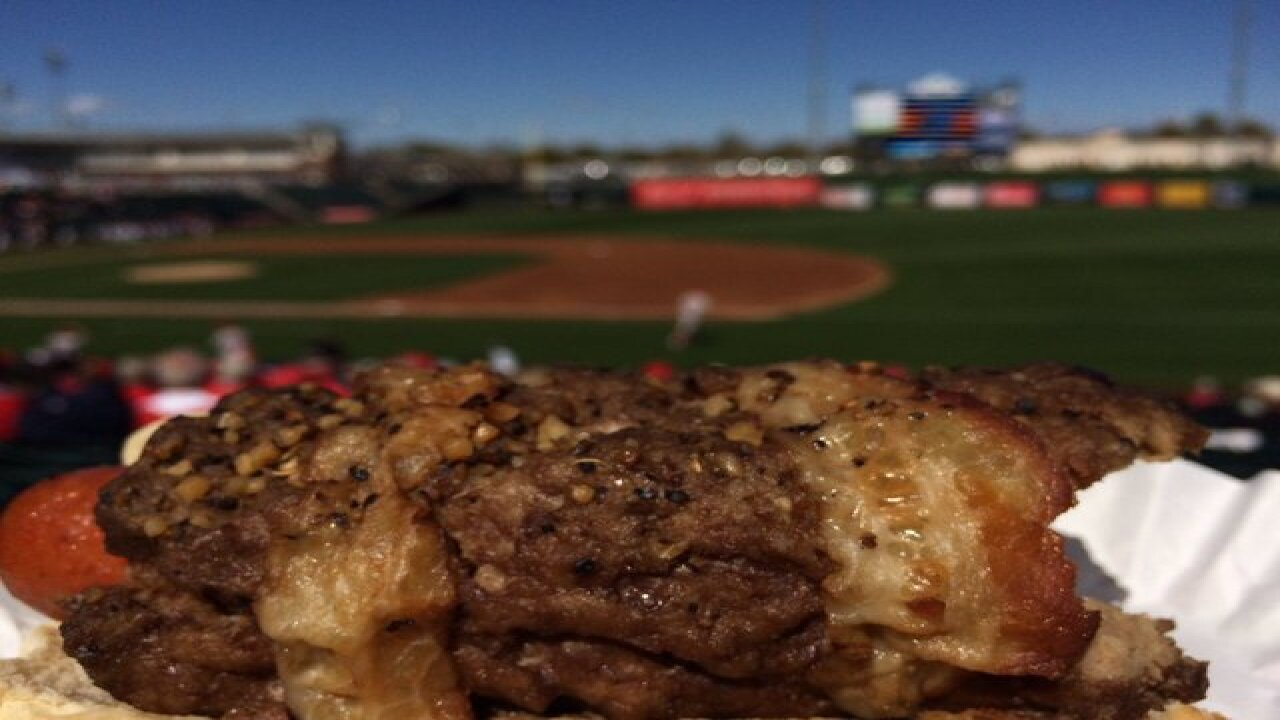 BACON! New Rangers & Royals Spring Training Menu