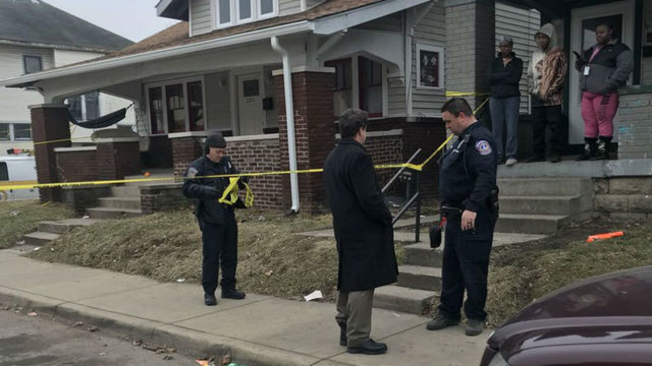 Person shot on Indy's east side