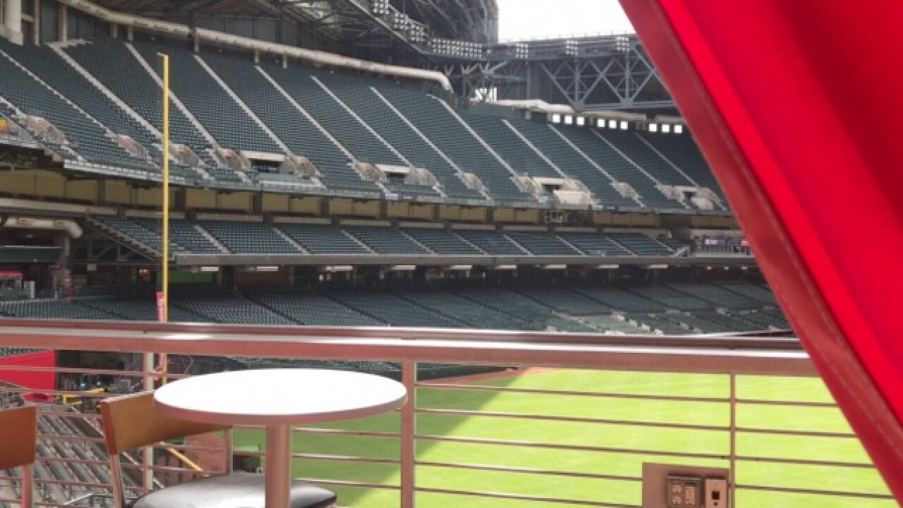 CABANAS! D-backs first MLB team to have suites