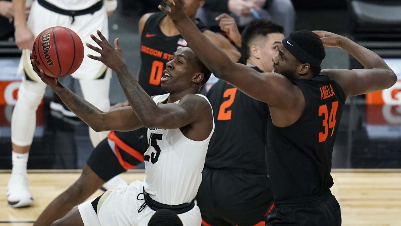 Oregon State beats No. 23 Colorado 70-68 for first title