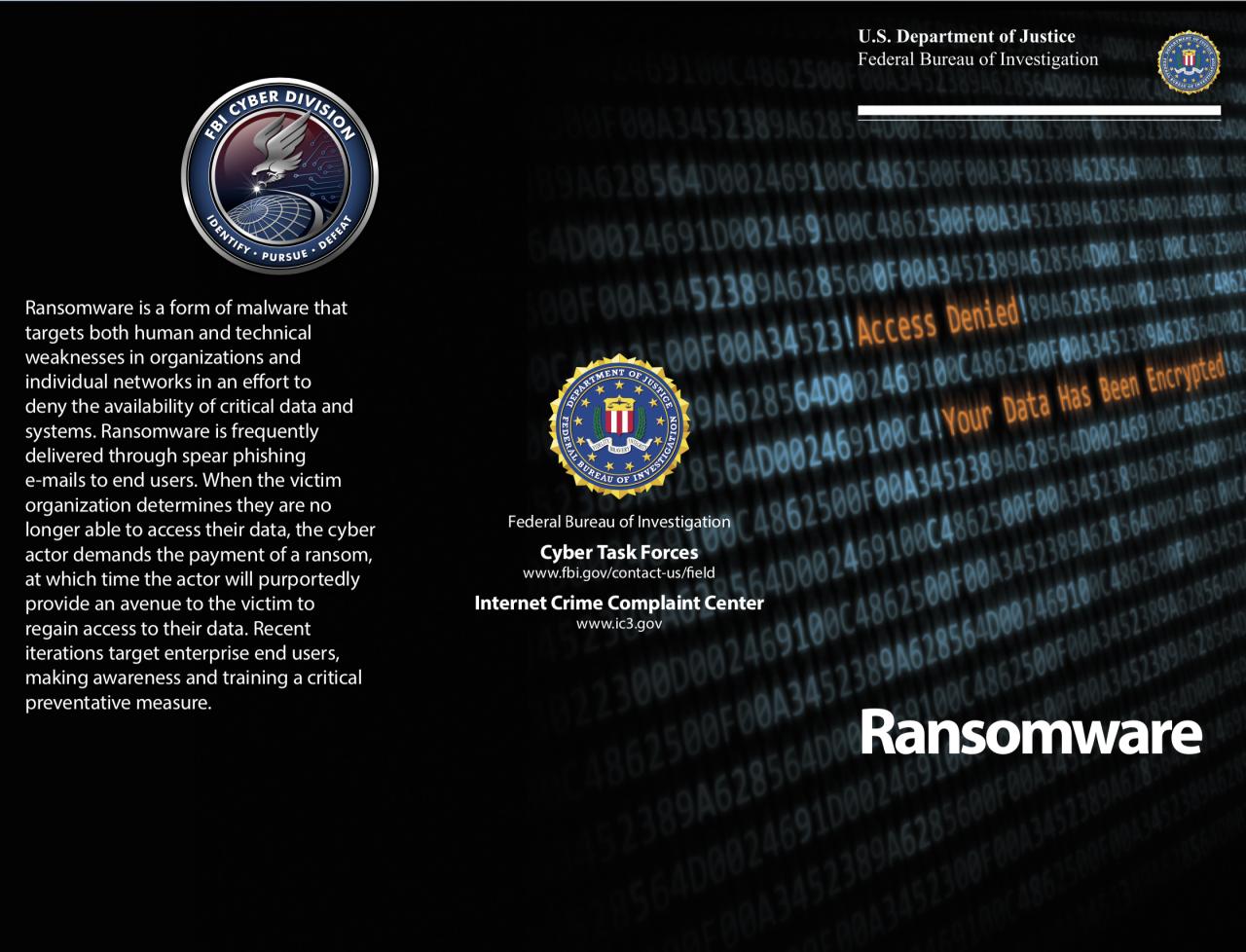 HPD FBI scam warning