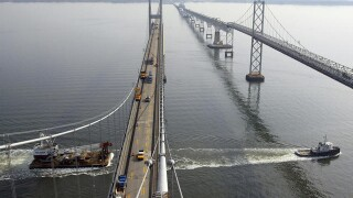 UPDATE: Bay Bridge opens to traffic