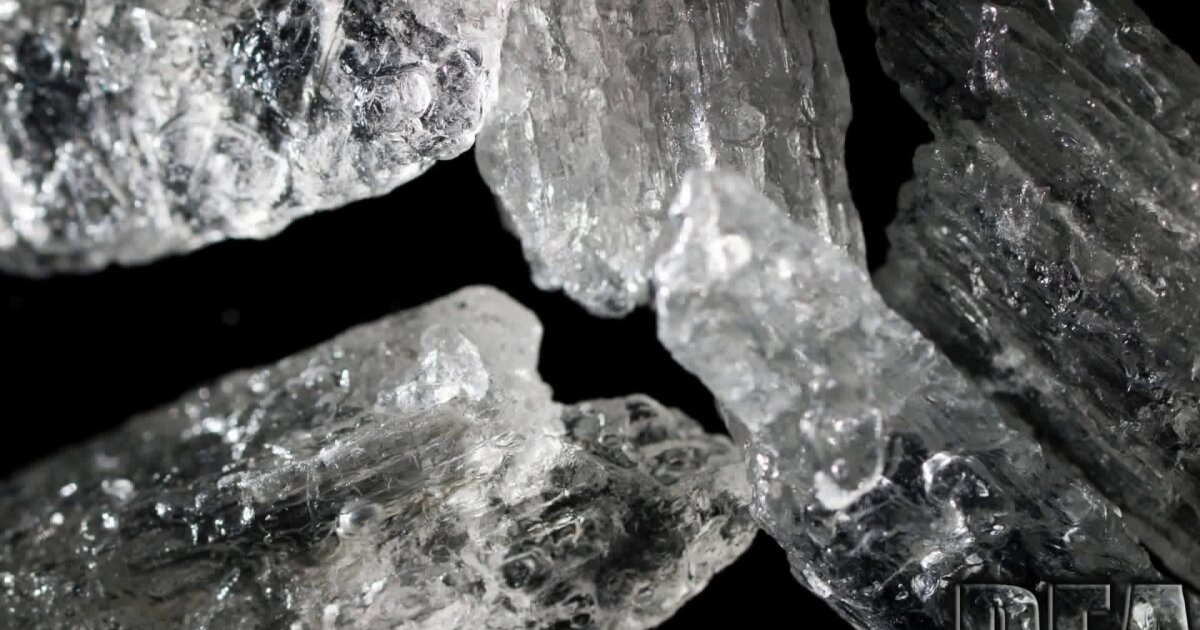 DEA warns New Yorkers about rise in meth seizures