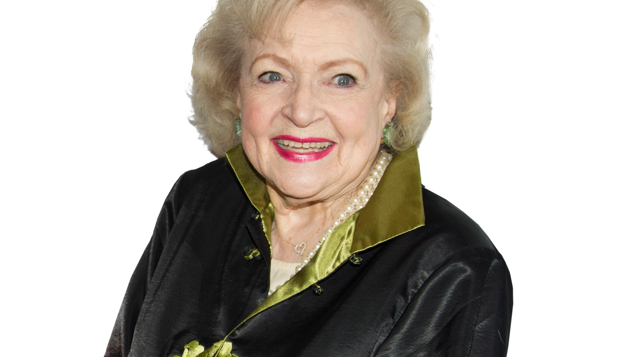Actress Betty White turns 98