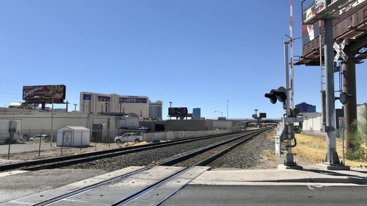 Company plans SoCal-Vegas train project