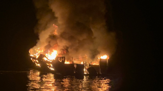 25 bodies from boat fire off coast of Southern California have been found, reports say