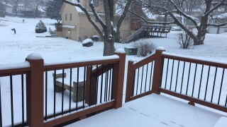 GALLERY: SNOW BLANKETS METRO AREA