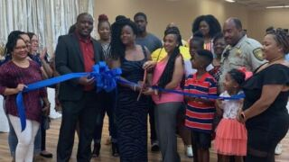 Le Beni Venue ribbon cutting