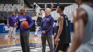 K-State NCAA Tournament Practice Session Pic 1