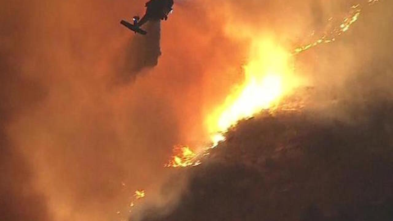 3 California wildfires destroy thousands of structures and force emergency evacuations