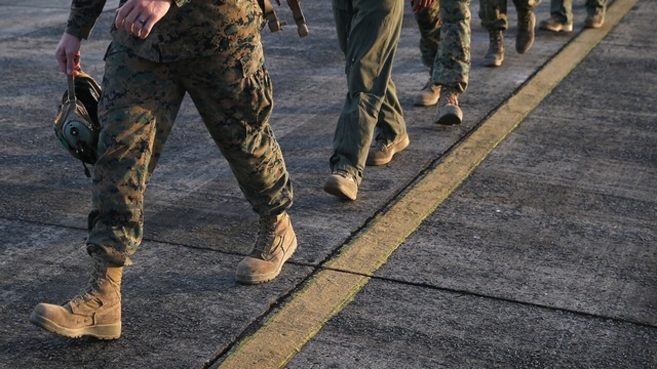 Still no women to complete Marine infantry course as female officer drops out