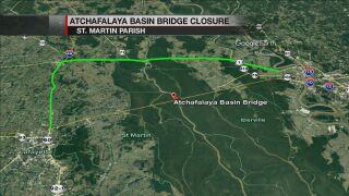 BASIN BRIDGE CLOSURES