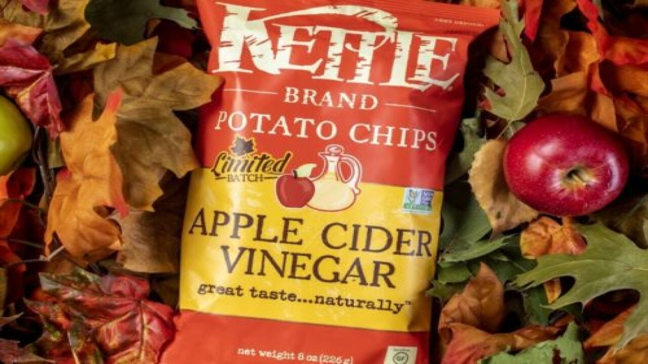 Apple Cider Vinegar Potato Chips Give Your Favorite Salty Snack A Fall Twist