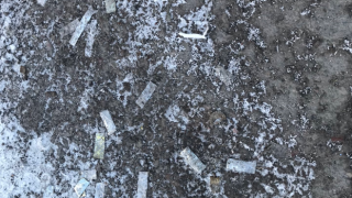 Confetti from Whitefish Winter Carnival causing issues