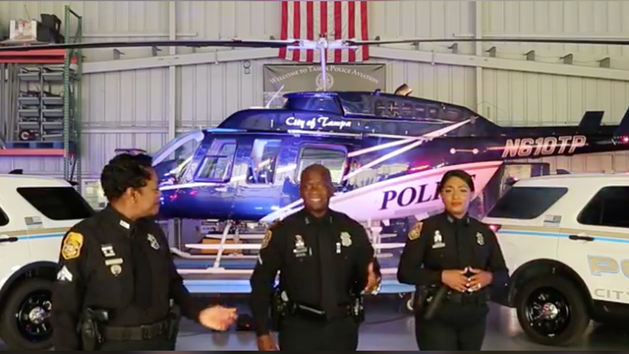 Tampa PD video pays tribute to veterans