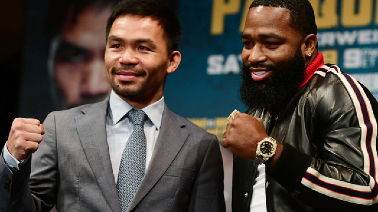 Quite the contrast: Senator Manny vs Adrien Broner