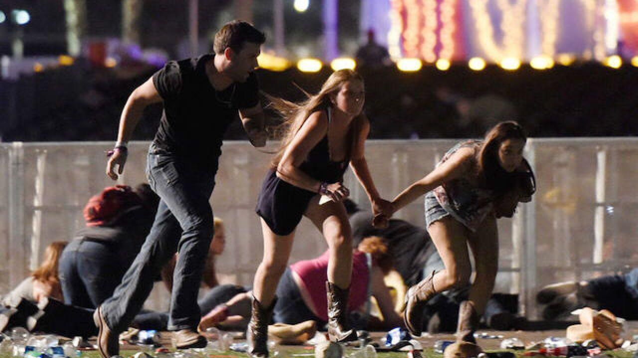 Photos of guns used in Las Vegas mass shooting