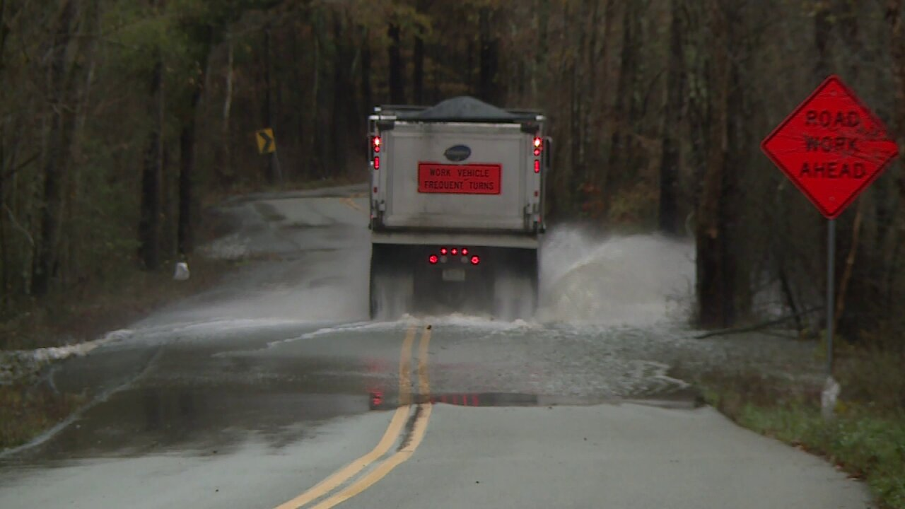 How officials plan to fix washout issues on Chesterfield County road