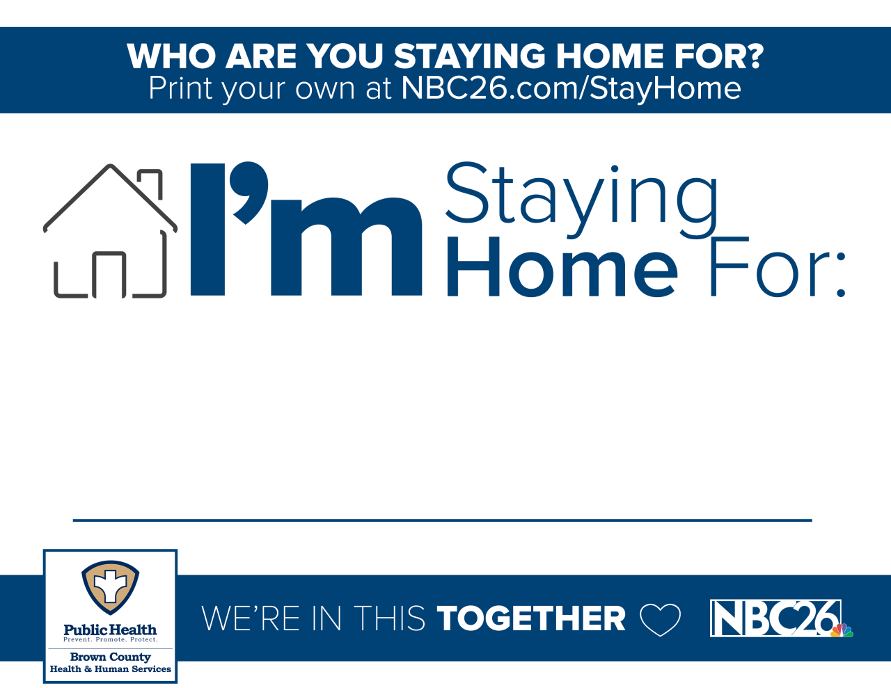 "Picture that says ""I'm Staying Home For [Blank]"""