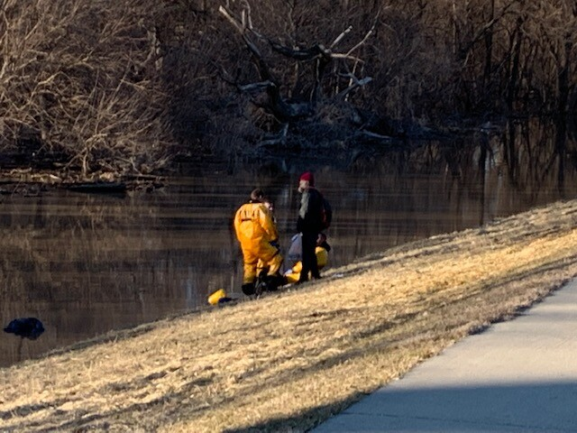Camping Woman and Four Dogs Rescued Near Council Bluffs