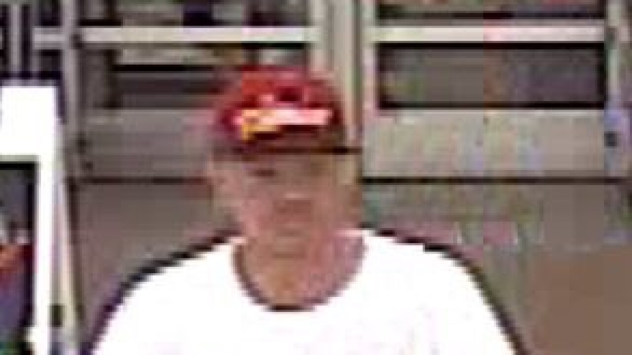 Suspect wanted for stealing TV from Walmart in White Lake