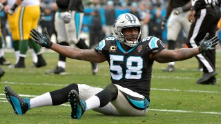 Panthers linebacker Thomas Davis suspended two games for repeat violation of NFL safety-related rules