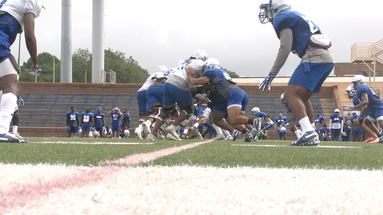 Hampton football faces Liberty in final matchup before the start of Big South play