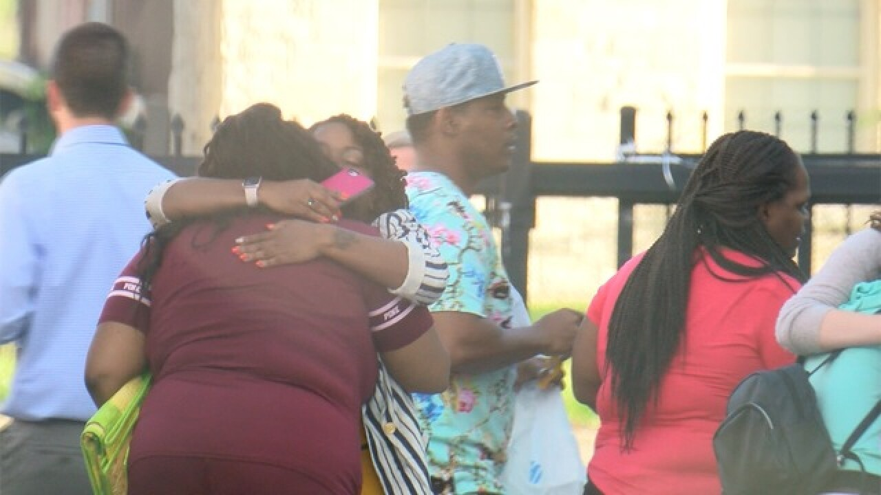 Parents reunited with students after bus crash