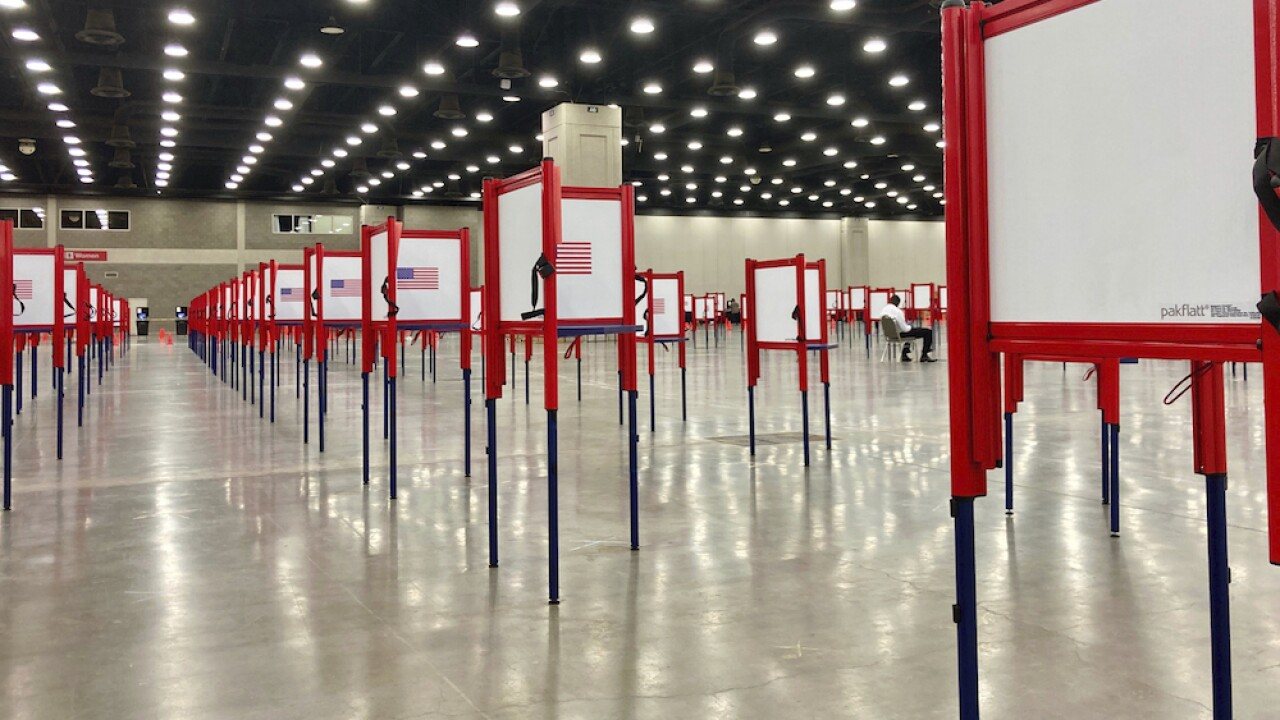 Election 2020 Voting Problems voting booths voting vote