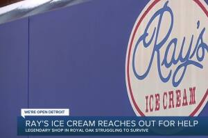 Royal Oak's Ray's Ice Cream launches fundraiser amid hard times in the COVID-19 pandemic