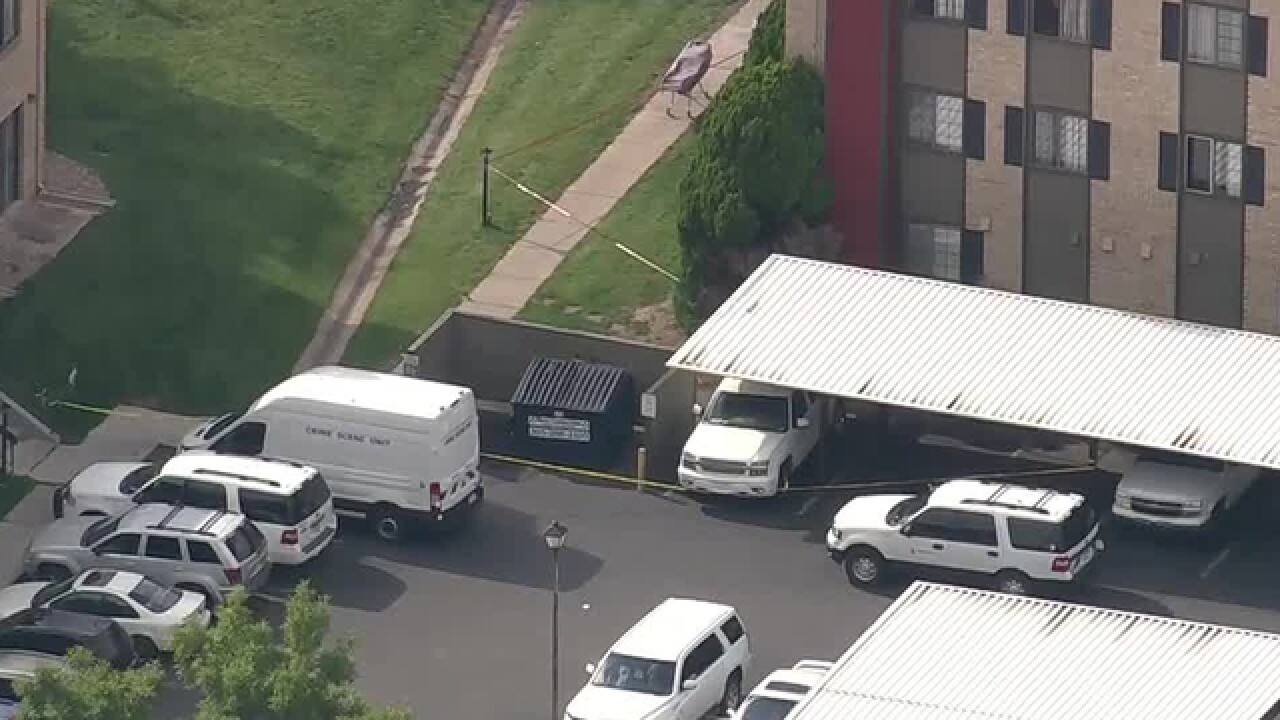 Homicide investigation underway at apartment complex near Cherry Creek Reservoir
