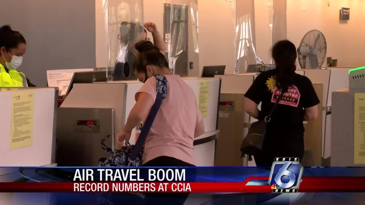 Air traffic rebounding at Corpus Christi International Airport