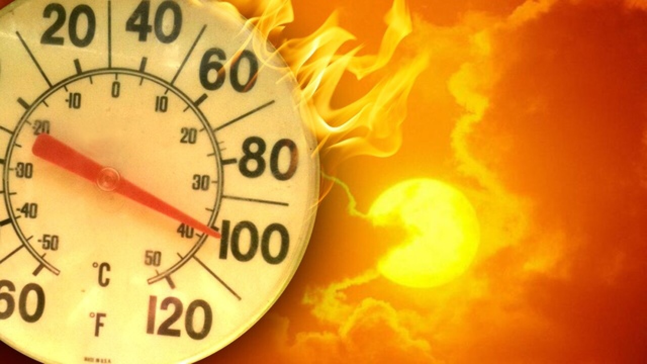 Excessive heat warning in effect for Las Vegas