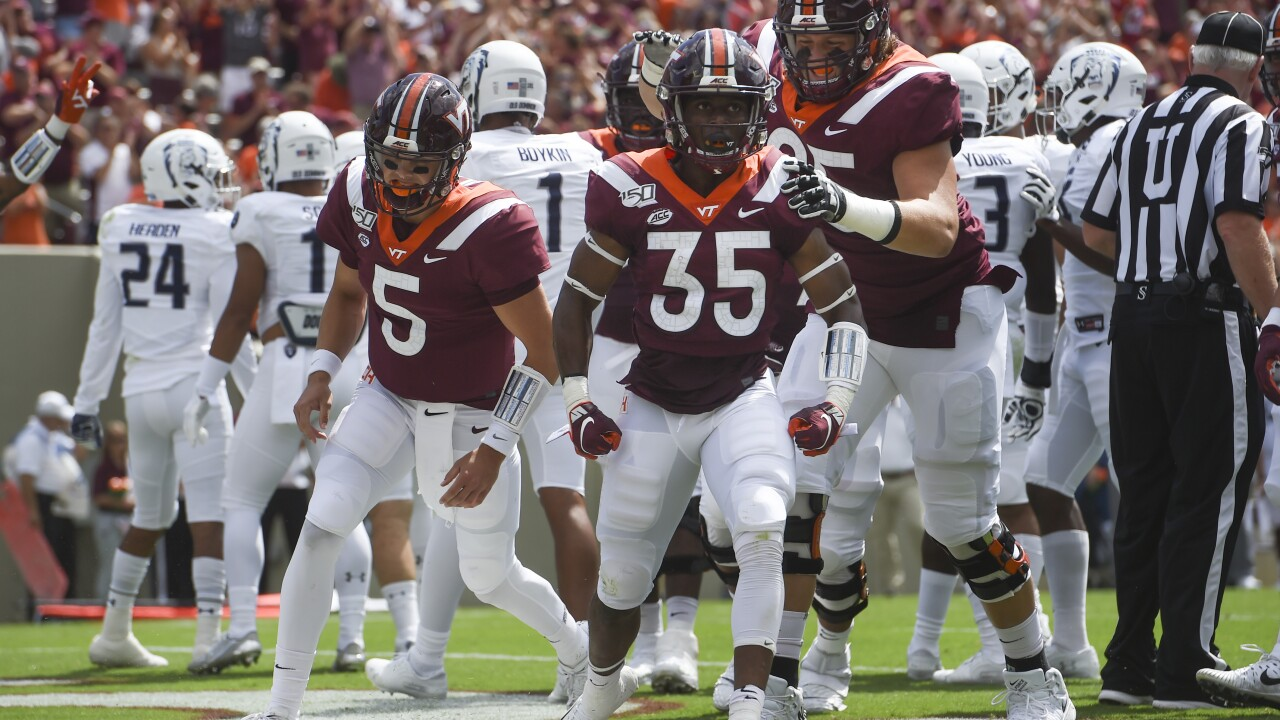 Virginia Tech football avoids back-to-back upsets by ODU, beats the Monarchs 31-17