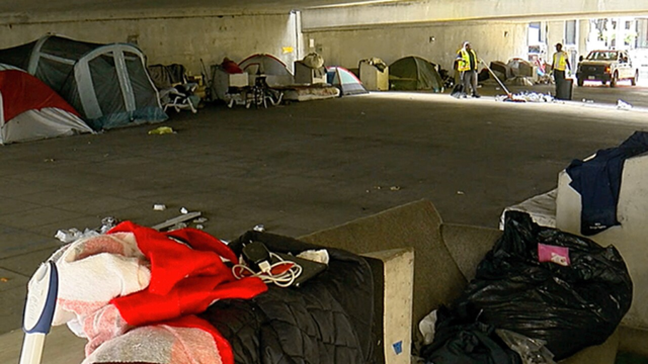 Cincinnati CEO volunteers company trucks to help move tent city out of Downtown