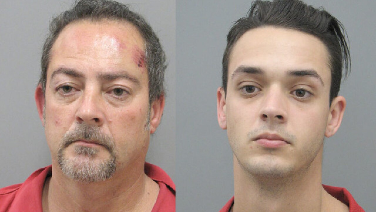 Father-son team sentenced to series of robberies in Las Vegas, Henderson