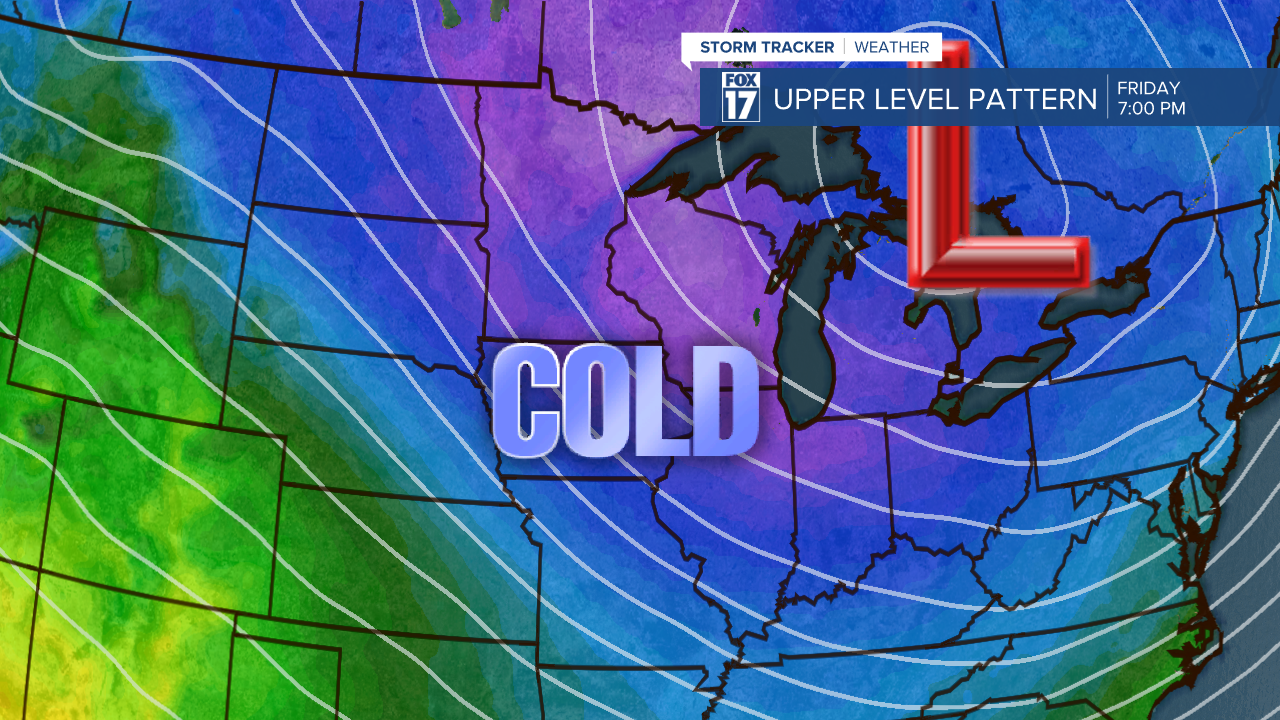 Colder air coming late this week