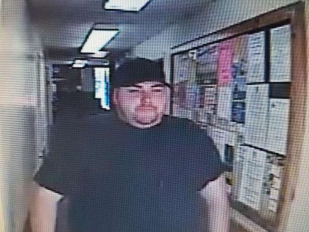 Trinity County Sheriff's Office released a picture of Heath Bumpous who has been accused of robbing the Citizens State Bank in Groveton, Texas on Oct. 4, 2019.