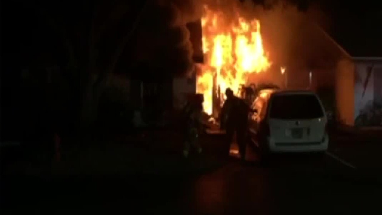 One person dead after 2-alarm fire in St. Pete