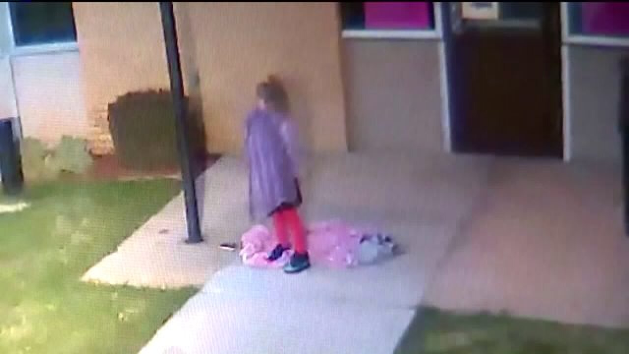Father could face charges after 5-year-old daughter left alone overnight on Ogden campus