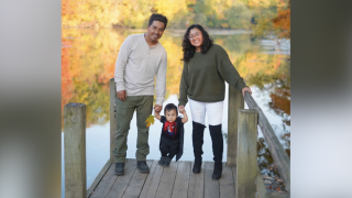 Viviana and her family