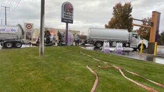 reserve street tanker accident