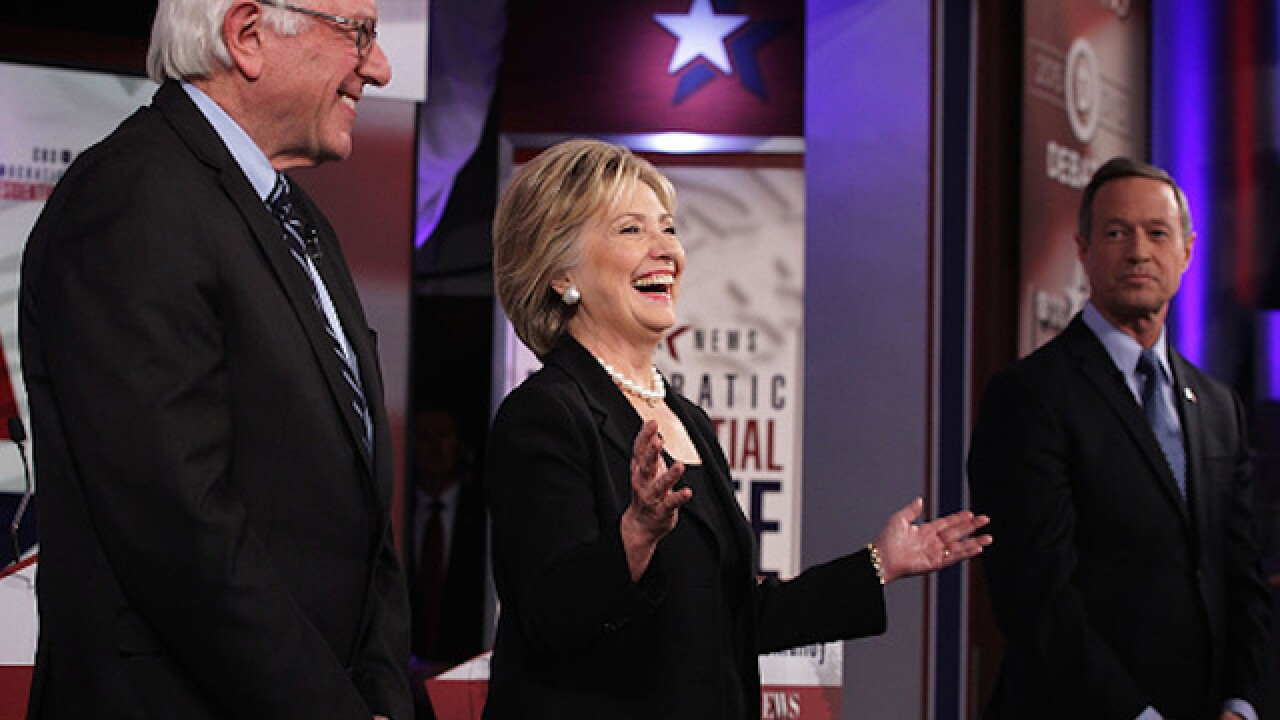 Sparks to fly in Democratic debate