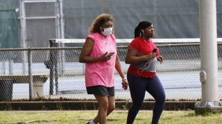 Virus Outbreak Sports Staying Active