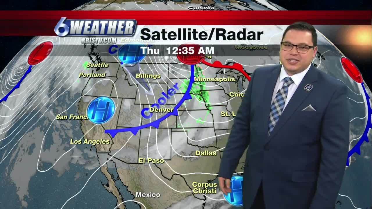 Juan Acuña's weather forecast for Jan. 14, 2021