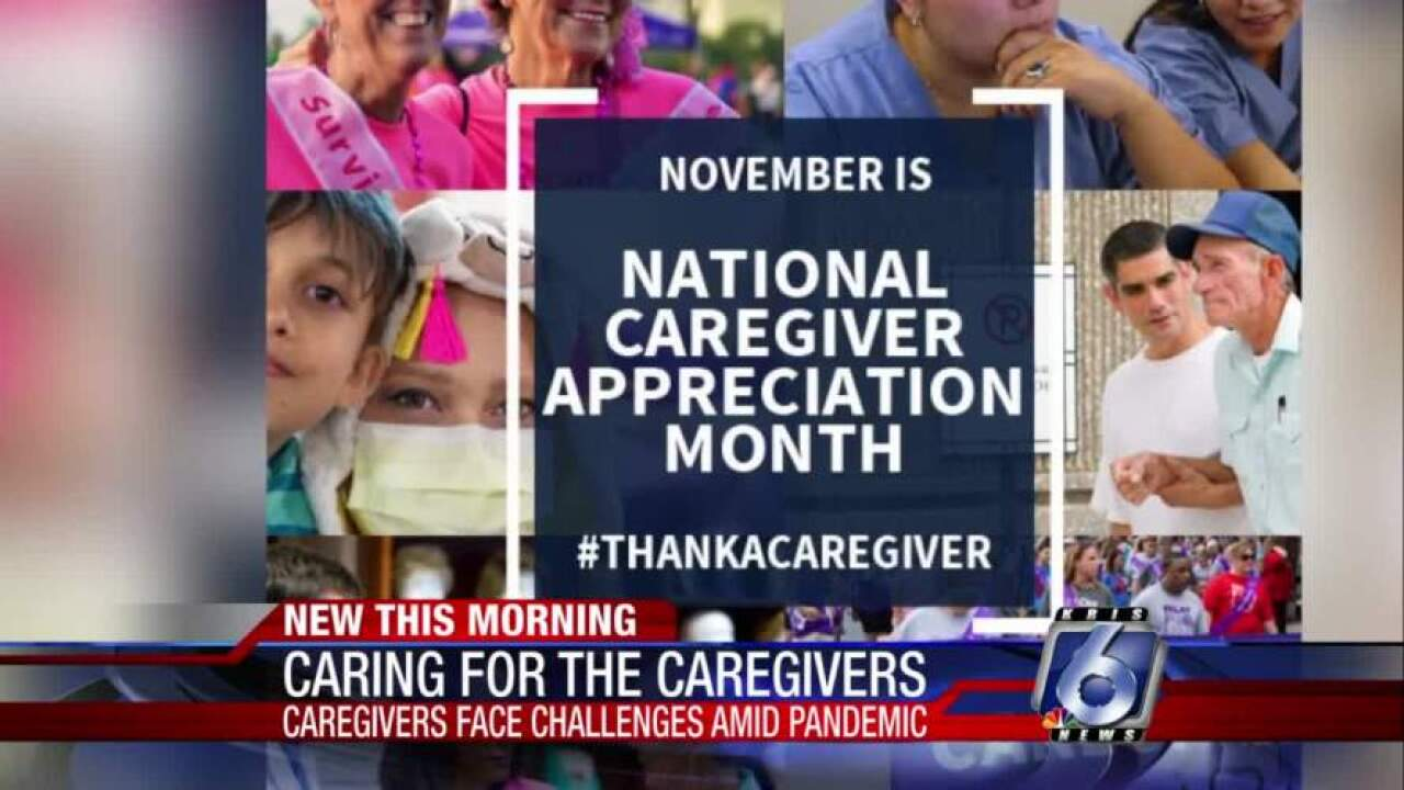 November is National Caregiver Appreciation Month