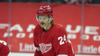 Jon Merrill Red Wings