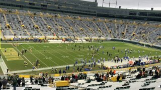 The Packers hosted the LA Rams during the divisional playoffs and about 6,500 season ticket holders were selected to attend the game